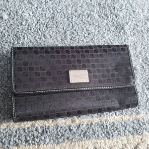 Black and Silver Nine & Co by Nine West Wallet